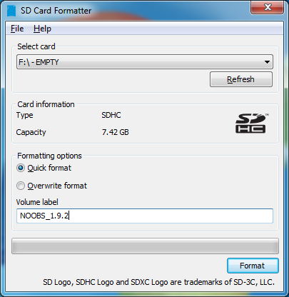SD Card Formatter 5.0