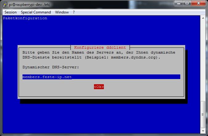 ddclient - install(2) - DDNS Service Servername