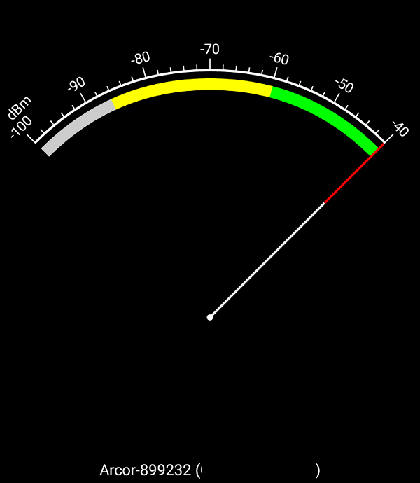Wifi Analyzer Signalstärke