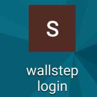wallstep-login shortcut changed