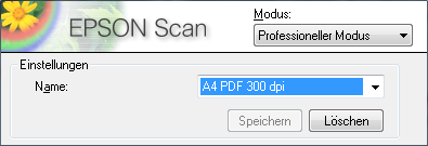 Epson Scan Setting Name