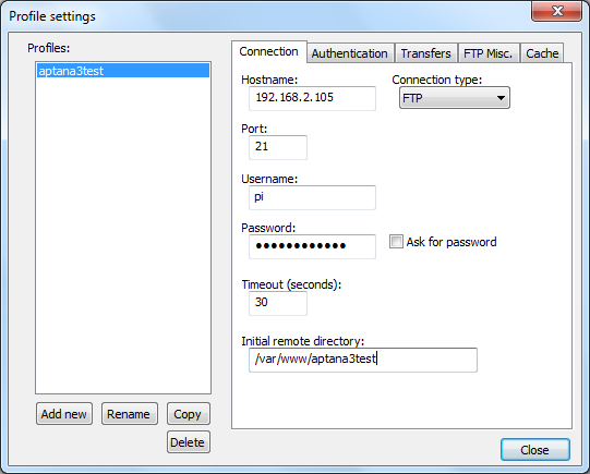 Notepad++_NppFTP_Profile_Settings_Connection