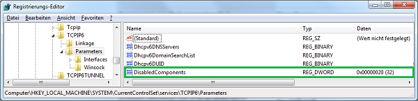 Windows-Registry-TCPIP6