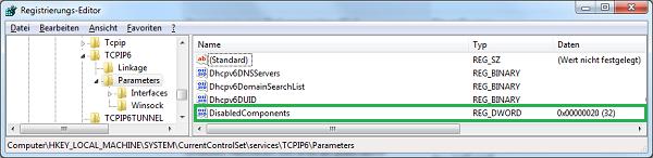 Windows-Registry-TCPIP6