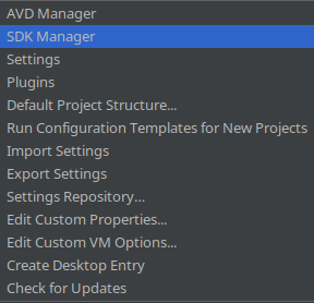 Android_Studio-Configure-SDK-Manager [Image]