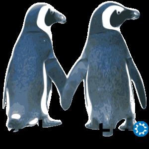 Kubuntu-Penguins